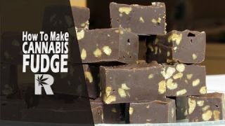 How to Make Cannabis Fudge (Easy Method with Cannabutter for Holiday Treats): Cannabasics #80